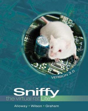 Cover of Sniffy the Virtual Rat Lite, Version 3.0 (with CD-ROM)