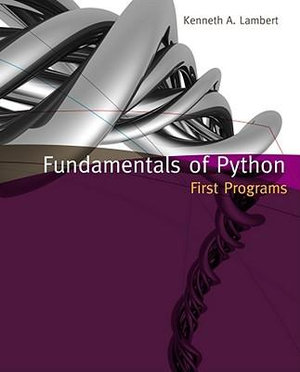 Cover of Fundamentals of Python : First Programs