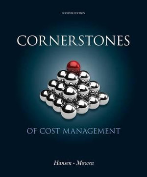 Cover of Cornerstones of Cost Management