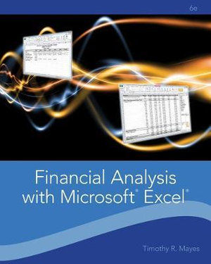 Cover of Financial Analysis with Microsoft Excel