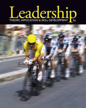 Cover of Leadership : Theory, Application, & Skill Development