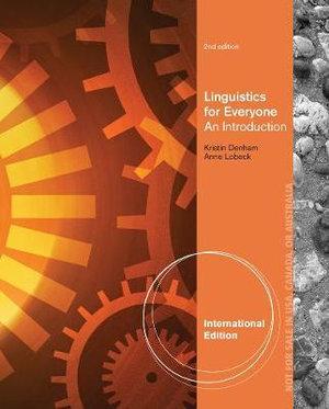 Cover of Linguistics for Everyone