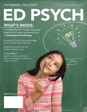 Cover of ED PSYCH (with CourseMate Printed Access Card)