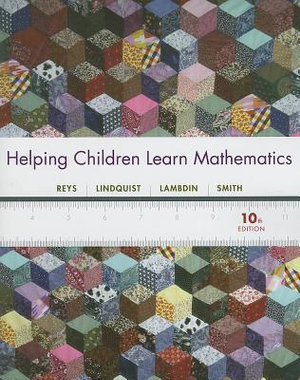 Cover of Helping Children Learn Mathematics 10E