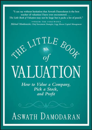 Cover of The Little Book of Valuation