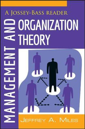 Cover of Management and Organization Theory