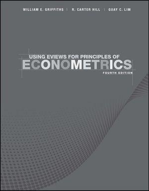 Cover of Principles of Econometrics 4E Using Eviews Handbook