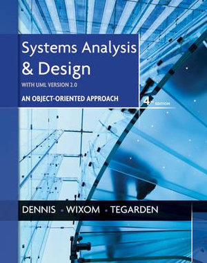 Cover of Systems Analysis and Design with UML