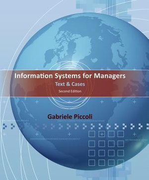 Cover of Information Systems for Managers