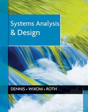 Cover of Systems Analysis and Design 5E