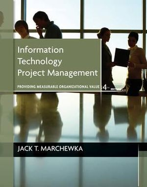 Cover of Information Technology Project Management, with CD-ROM