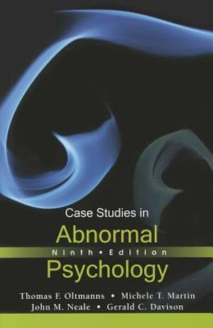 Cover of Case Studies in Abnormal Psychology 9E