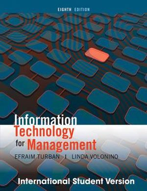 Cover of Information Technology Management