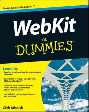 Cover of WebKit For Dummies