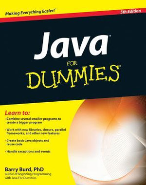 Cover of Java For Dummies