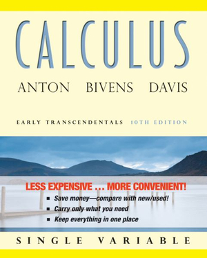 Cover of Calculus Early Transcendentals Single Variable 10Ebinder Ready Version