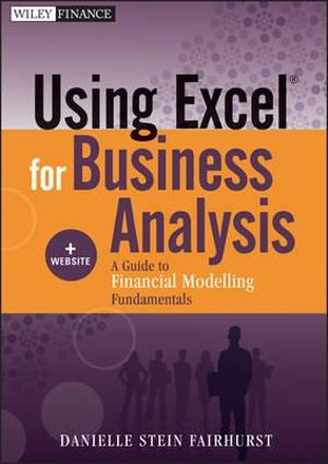 Cover of Using Excel for Business Analysis, + Website