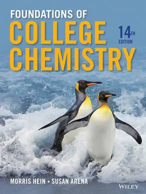 Cover of Foundations of College Chemistry