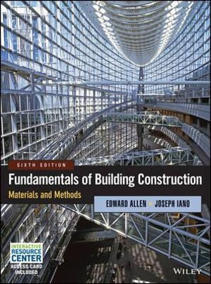 Cover of Fundamentals of Building Construction
