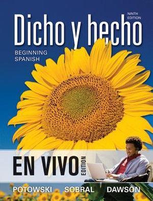 Cover of Dicho y hecho