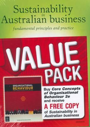 Cover of Organisational Behaviour Core Concepts + Sustainability Supplement