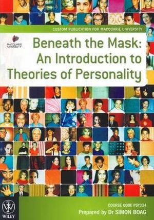 Cover of Beneath the Mask 8E Custom Publication for Macquarie University