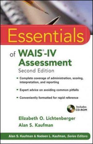 Cover of Essentials of Wais-iv Assessment, Second Edition