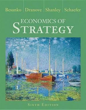 Cover of Economics of Strategy 6E
