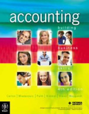 Cover of Accounting Building Business Skills 4E Custom Publictin for Victoria University