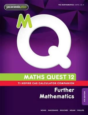 Cover of Maths Quest 12 Further Mathematics