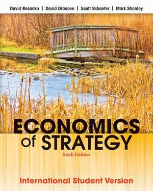 Cover of Economics of Strategy