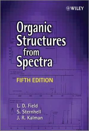 Cover of Organic Structures From Spectra 5E