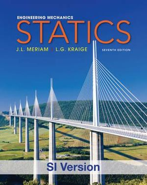 Cover of Engineering Mechanics Statics SI 7E + WileyPlus Registration Card