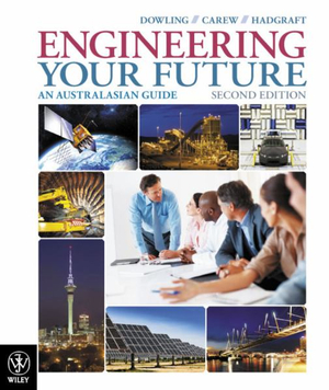 Cover of Engineering Your Future an Australasian Guide 2E+istudy Version 1 Registration Card