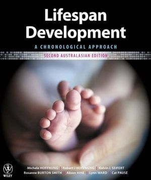 Cover of Lifespan Development a Chronological Approach 2E Australasian Edition+istudy Version 1 Registration Card