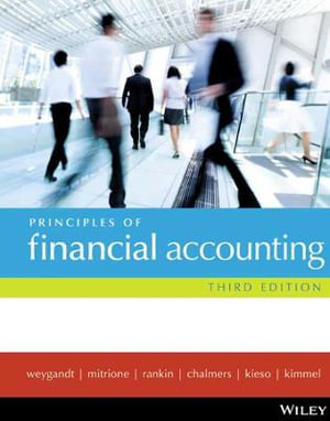 Cover of Principles of Financial Accounting 3E Binder Ready Version