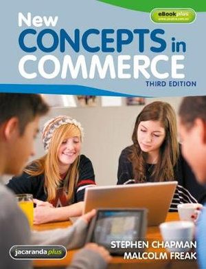 Cover of New Concepts in Commerce 3E and EBookPLUS