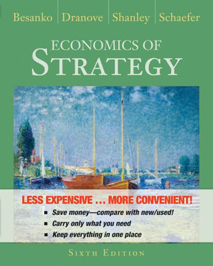 Cover of Economics of Strategy 6E Binder Ready Version
