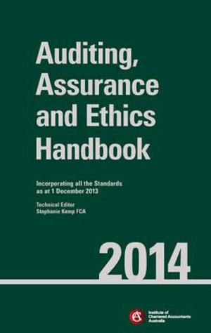 Cover of Chartered Accountants Auditing and Assurance Handbook 2014