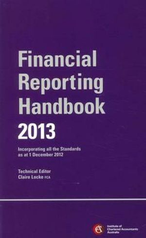 Cover of Chartered Accountants Financial Reporting Handbook 2013+Wiley E-text