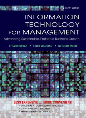Cover of Information Technology for Management