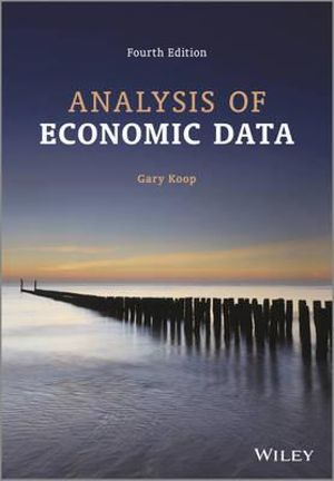 Cover of Analysis of Economic Data 4E