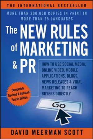 Cover of The New Rules of Marketing & PR