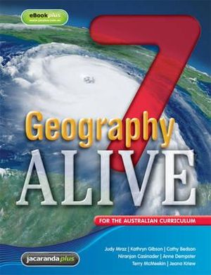 Cover of Geography Alive 7 for the Australian Curriculum and EBookPLUS