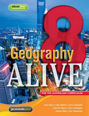 Cover of Geography Alive 8 for the Australian Curriculum and EBookPLUS