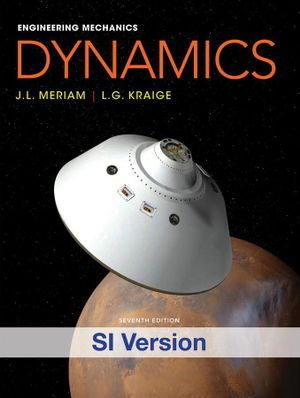 Cover of Eng Mech Dynamics 7E Isie+wp
