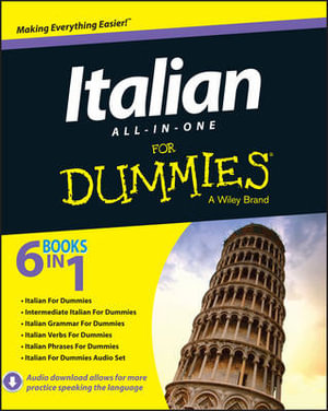 Cover of Italian All-in-One For Dummies