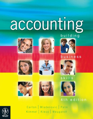 Cover of Accounting Building Business Skills 4E + Wileyplus/Istudy Version 1 Registration Card