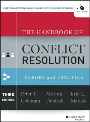 Cover of The Handbook of Conflict Resolution