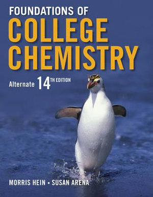 Cover of Foundations of College Chemistry 14E + WileyPlus Registration Card